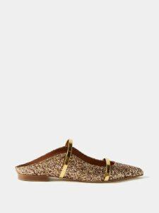 D'Ascoli - Baku Geometric-print Tie-waist Cotton Dress - Womens - Red Print