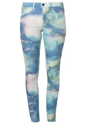 ONLY PRINTED SKY ANKLE LEGGING Slim fit jeans blue