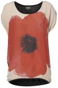 Stone Diamante Poppy Tee
