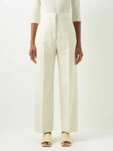 Miu Miu - Tie-front Wool Cardigan - Womens - Grey