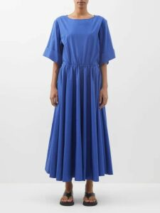 Racil - Ava Silk Floral Slip Dress - Womens - White Multi