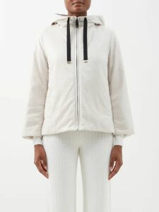 Adriana Degreas - High Neck Gingham Print Mini Dress - Womens - Pink