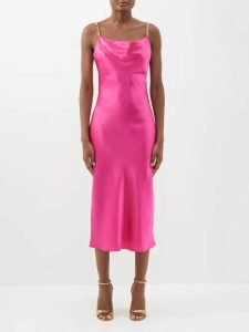 Balenciaga - Square Knife Velvet Booties - Womens - Black
