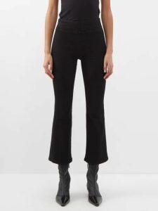 Le Monde Beryl - Venetian D'orsay Velvet Flats - Womens - Pink