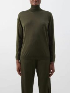 Jw Anderson - Handkerchief-hem Striped-voile Maxi Dress - Womens - Multi