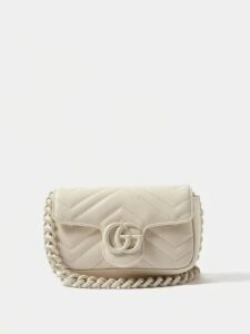 A.w.a.k.e. Mode - Dana Python Print Cotton Blend Trench Coat - Womens - Beige Print