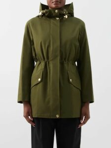 Prada - Flowerpot-print Cotton Midi Dress - Womens - Pink Multi