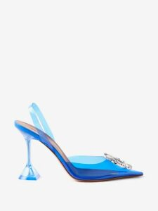 Emilia Wickstead - Selena Ship-print Linen Blouse - Womens - Blue Print