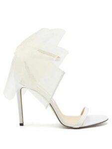 Calvin Klein 205w39nyc - Jaws Intarsia Ribbed Sweater - Womens - Black Red