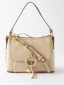Belize - Elise Polka Dot High Rise Cotton Trousers - Womens - Green Print