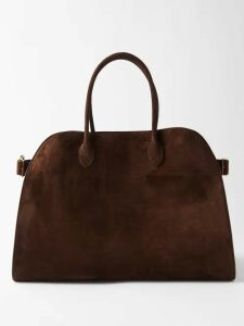 Marni - Statue And Brushstroke Draped Cotton-blend Dress - Womens - Ivory Multi