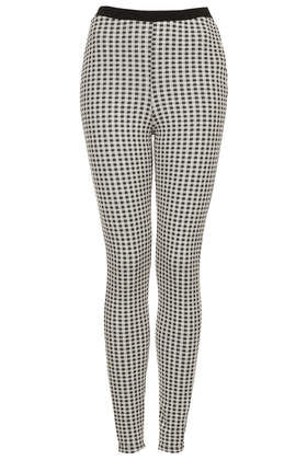 Gingham Jacquard Treggings