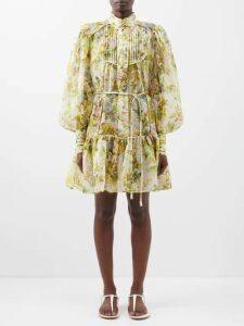 Moncler - Santose Technical Gabardine Jacket - Womens - Khaki