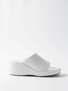 Valentino - Ruffled-cuff Virgin Wool-blend Sweater - Womens - Red