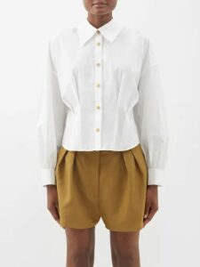 Myar - Itj90 Camouflage Cotton Twill Jacket - Womens - Multi