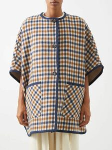 Peter Pilotto - Cord-bodice Gathered Metallic-plissé Gown - Womens - Pink