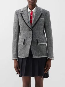 Rodarte - Ruffle-trim Fil-coupé Blouse - Womens - Light Pink