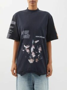 Junya Watanabe - Lace Slip Overlay Wool-blend Dress - Womens - Black Grey