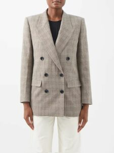 Valentino - Ruffled-cuff Wool-blend Sweater - Womens - Black