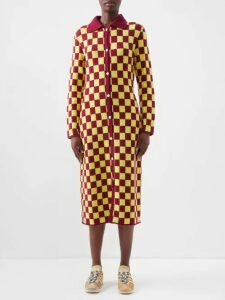 Fendi - Logo Embossed Performance Shorts - Womens - Dark Orange