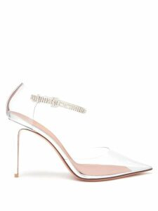 Zimmermann - Moncur Floral-print Lace-trim Dress - Womens - White