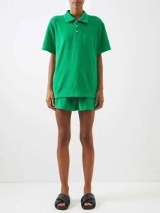 Raey - Long Line Fine Knit Cashmere Sweater - Womens - Orange