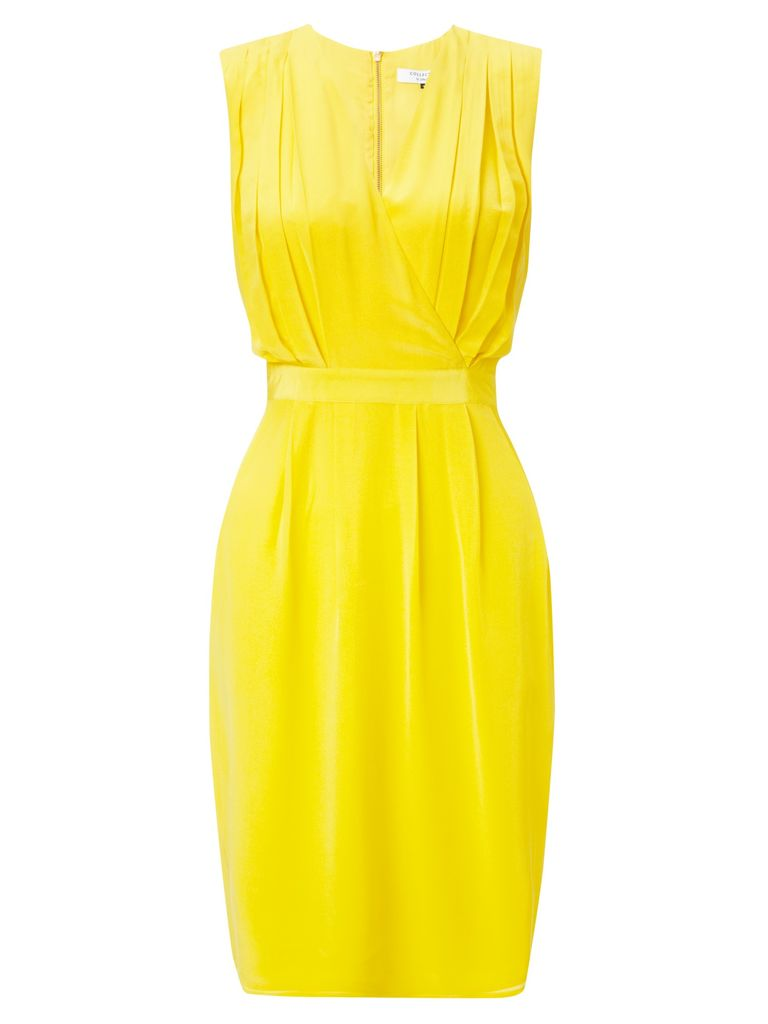 COLLECTION by John Lewis Amelia Silk Dress, Yellow