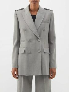 Cefinn - Tie Waist Voile Midi Dress - Womens - Navy Multi