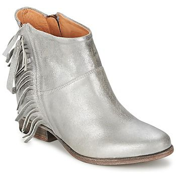 Catarina Martins  MAGGIORE  women's Low Ankle Boots in Silver