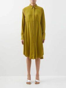 Valentino - A-line Wool-blend Mini Skorts - Womens - Ivory