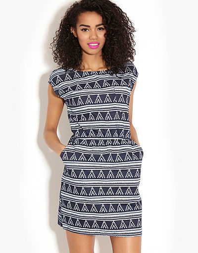 ONLY Lola Aztec Dress