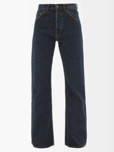 Givenchy - Cape Stretch-knit Midi Dress - Womens - Black