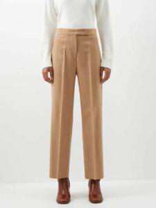 Thierry Colson - Tasha Gingham Cotton Midi Wrap Skirt - Womens - Black Multi