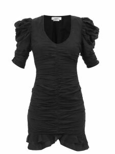 Chloé - Sonnie Raised Sole High Top Trainers - Womens - Navy Multi