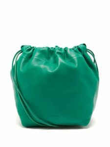 Dolce & Gabbana - Lily Print High Rise Cotton Blend Pyjama Trousers - Womens - Black Print