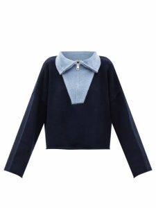 Dodo Bar Or - Batira Tiered Floral-print Cotton Maxi Skirt - Womens - Gold