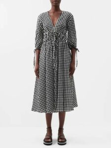Jimmy Choo - Love 85 Lamé Pumps - Womens - Silver