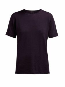 Joseph - Relaxed-fit Cashmere T-shirt - Womens - Navy
