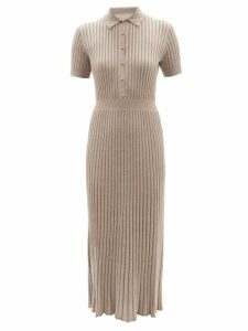 Givenchy - High-rise Checked Wool-blend Trousers - Womens - Grey Multi