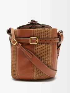 No. 21 - Polka Dot-print Pussybow Blouse - Womens - Black Yellow