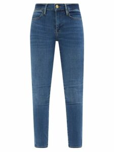 Andrew Gn - Floral-embellished Crepe Dress - Womens - White Multi
