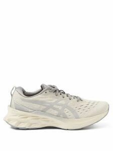 Marni - Contrast-stitch Chambray Shirt - Womens - Light Blue