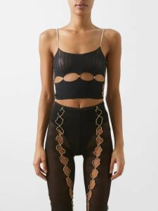 A.P.C. - Ball Pointelle T-shirt - Womens - Red