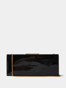 Balenciaga - Point-collar Satin Blouse - Womens - Black