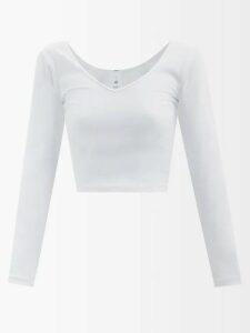 Three Graces London - X Zandra Rhodes Julienne Cotton Dress - Womens - Green Multi