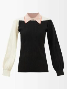 Bottega Veneta - Round-neck Cashmere Sweater - Womens - Camel