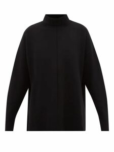 Kalita - Gathered Silk Habotai Maxi Dress - Womens - Navy