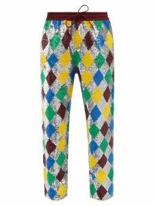 A.p.c. - Striped Roll-neck Rib-knitted Top - Womens - Navy White