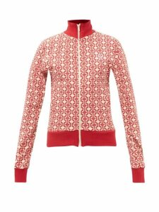 Albus Lumen - Aziza Raw-hem Silk Skirt - Womens - Brown