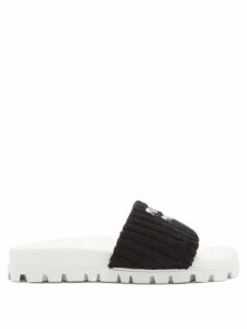 Wiggy Kit - Painter's Striped-cotton Dress - Womens - Blue Stripe